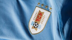FIFA requested that the four stars be removed from the Uruguayan national team shirt
