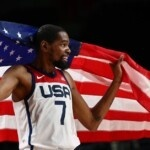 Featuring Kevin Durant, the United States beat France and won Olympic gold in basketball for the fourth time in a row.