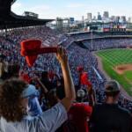 Fight between two women in game between Atlanta Braves and Cincinnati Reds
