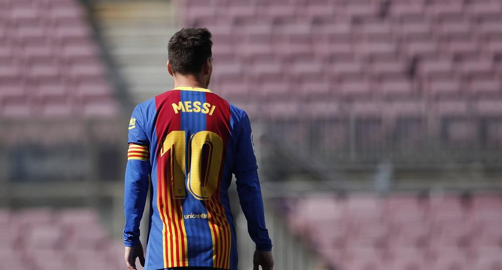 First official match without Messi the Camp Nou will have