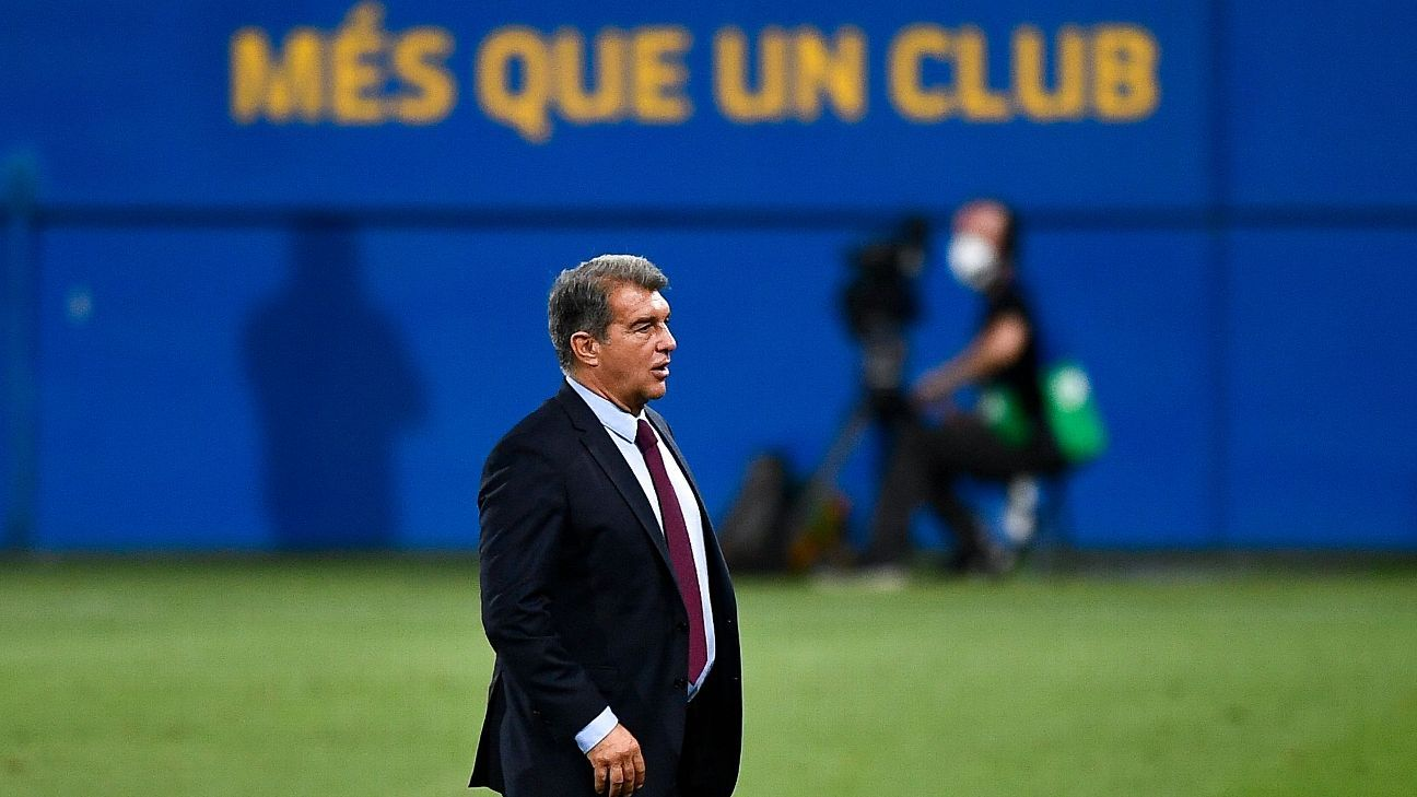 Florentino and Ferran convince Laporta not to renew Messi says