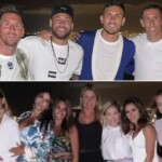 Friends' night: Lionel Messi and Antonela Roccuzzo met with the stars of PSG in Ibiza