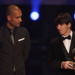 """Guardiola: """"Right now (Messi) is not in our thoughts"""""""