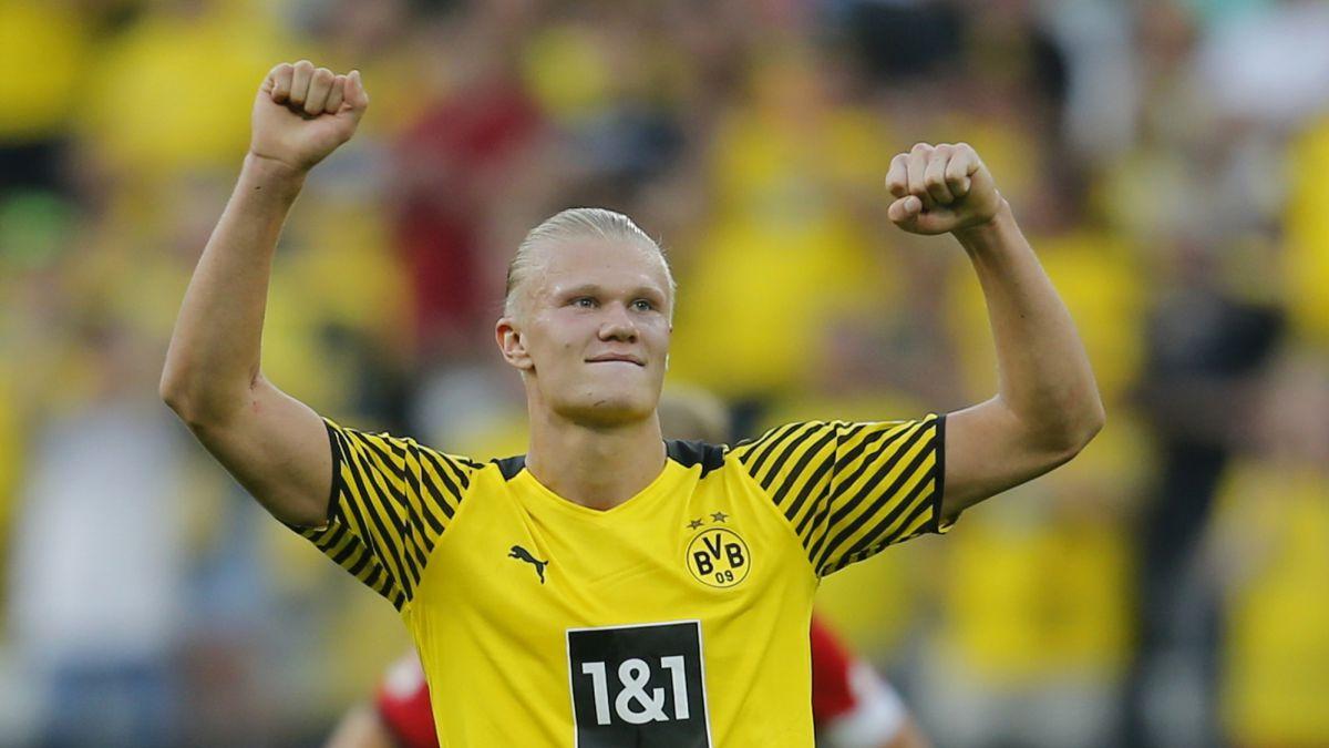 Haaland starts impressing and destroys Eintracht