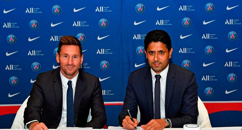 Historic contract Lionel Messi signing with PSG includes cryptocurrencies