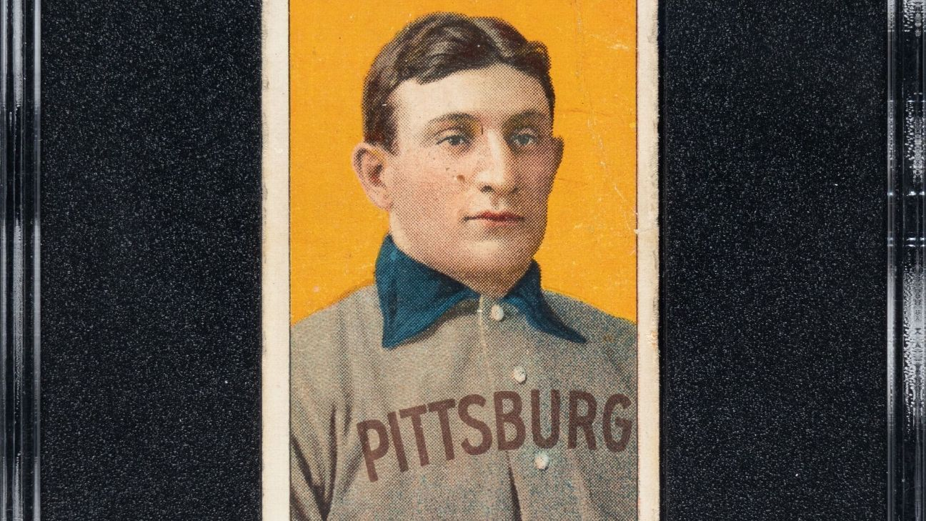 Honus Wagner card sells for a record 66 MM