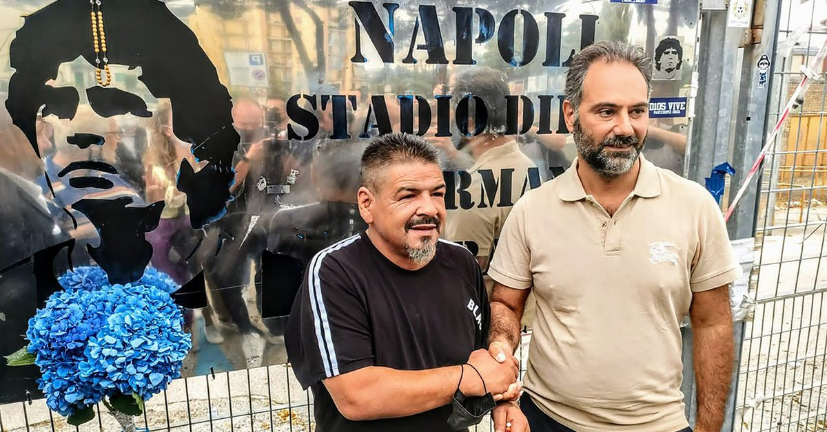 Hugo Maradona announced that he will be a candidate in the next elections in the city of Naples: his reaction when he was accused of using his surname