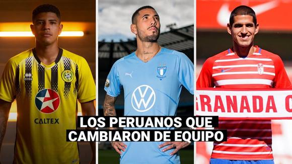 Peruvian national team: these are the players who changed teams after the Copa América