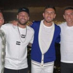 It was a coincidence: the intrahistory of the photo of Leo Messi with the PSG cracks