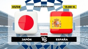 Japan - Spain, live   Football   Olympic Games   Brand