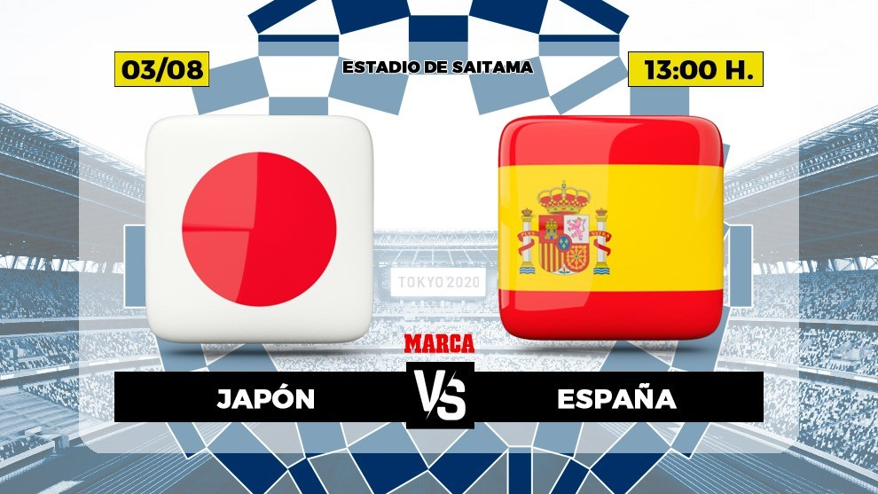 Japan Spain live Football Olympic Games