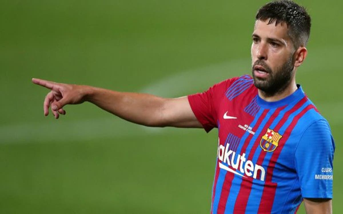 Jordi Alba on his reduction My predisposition is to help