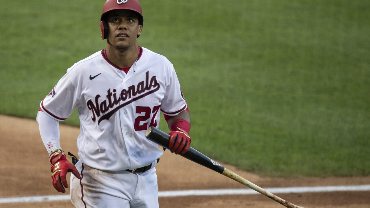 Juan Soto is not happy with the Nationals after the changes