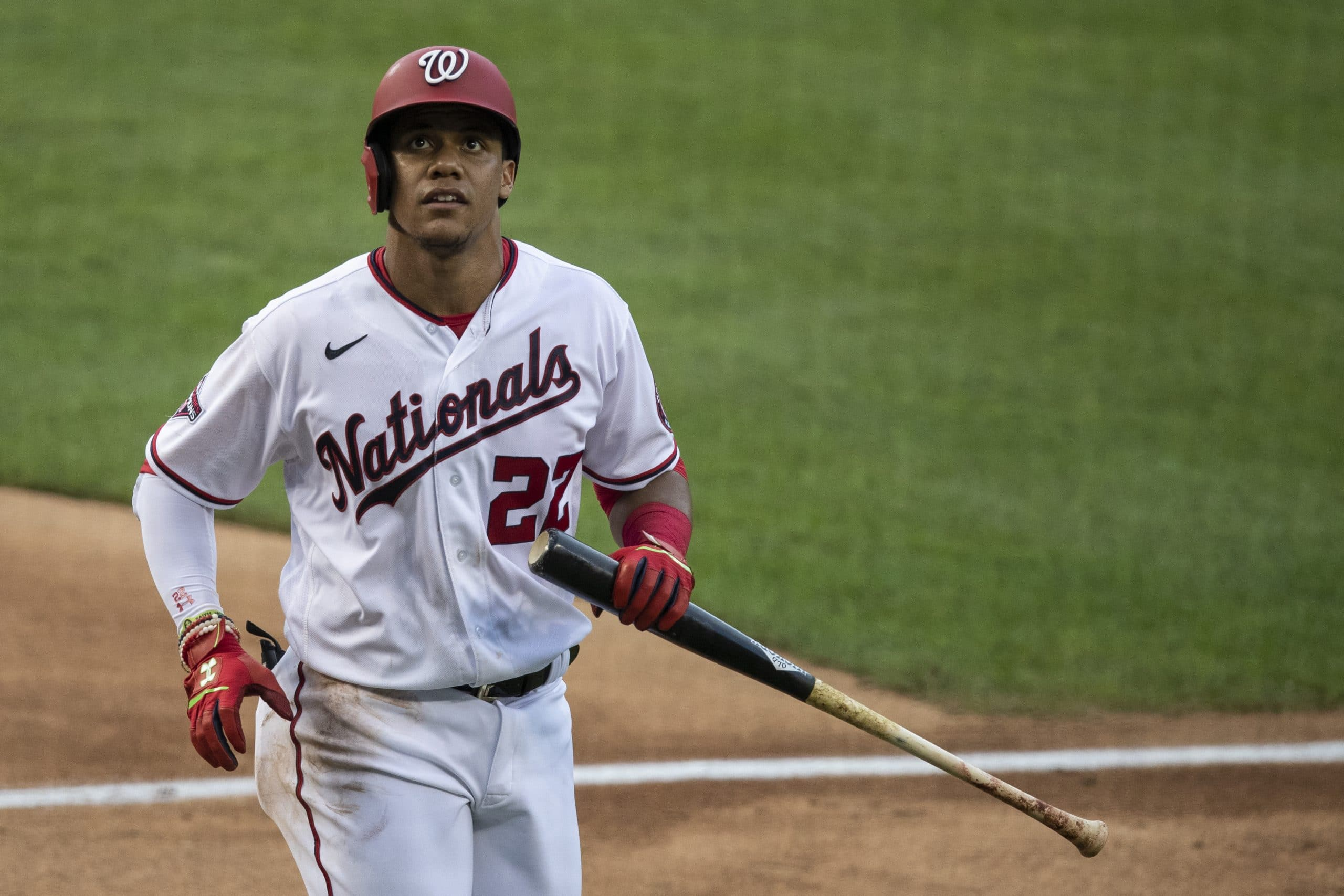 Juan Soto is not happy with the Nationals after the