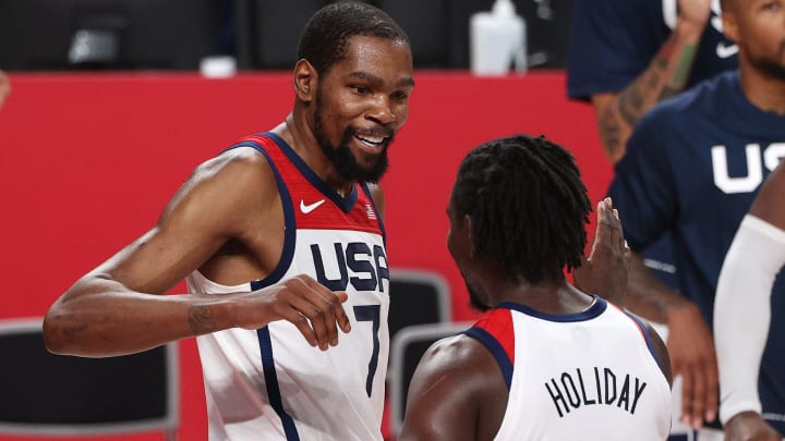 Kevin Durants records with the United States after gold at