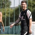 Keylor Navas and Lionel Messi meet as teammates at PSG