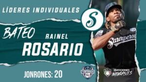 LMB: Dominican Rainel Rosario ends as HR leader
