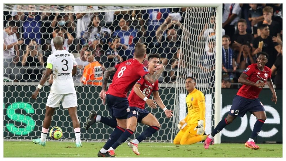 Lille delves into PSGs wound and wins the Super Cup