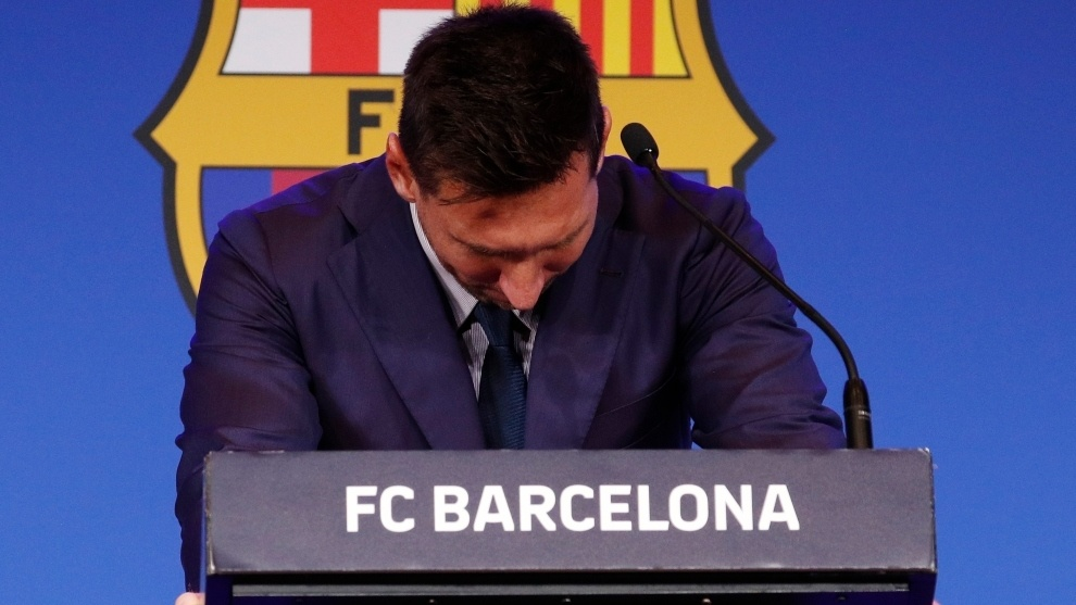 Lionel Messi I did everything possible to stay at Barcelona