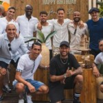 Lionel Messi participated in the birthday of one of the PSG figures: the absence in the photo that generated suspicions