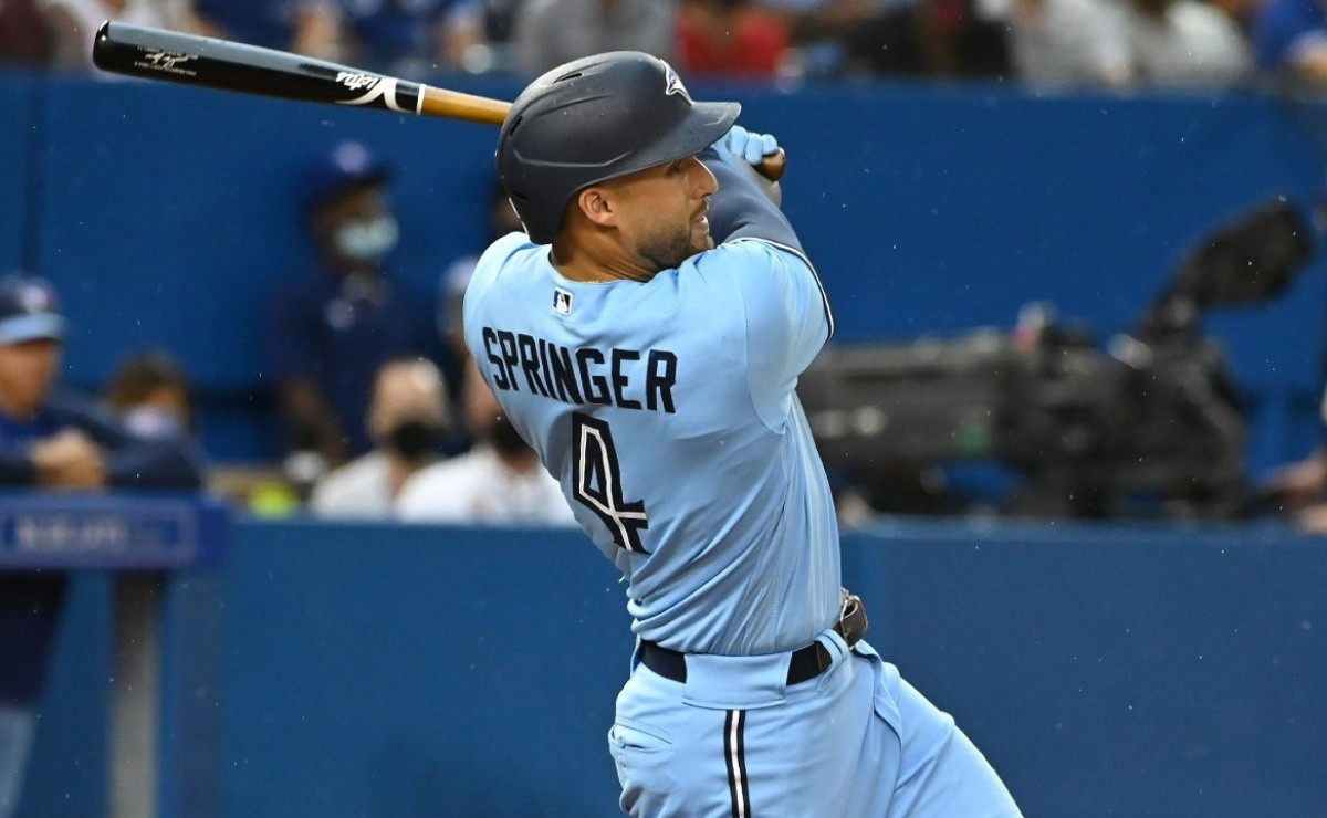 MLB: By little! George Springer stays at nothing of the cycle with Blue Jays