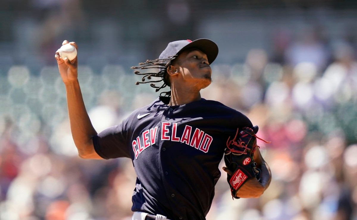 MLB He savored it Triston McKenzie throws near perfect gem with