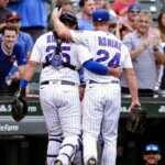 MLB: It was in the family! Andrew Romine throws his brother Austin (catcher), with Cubs
