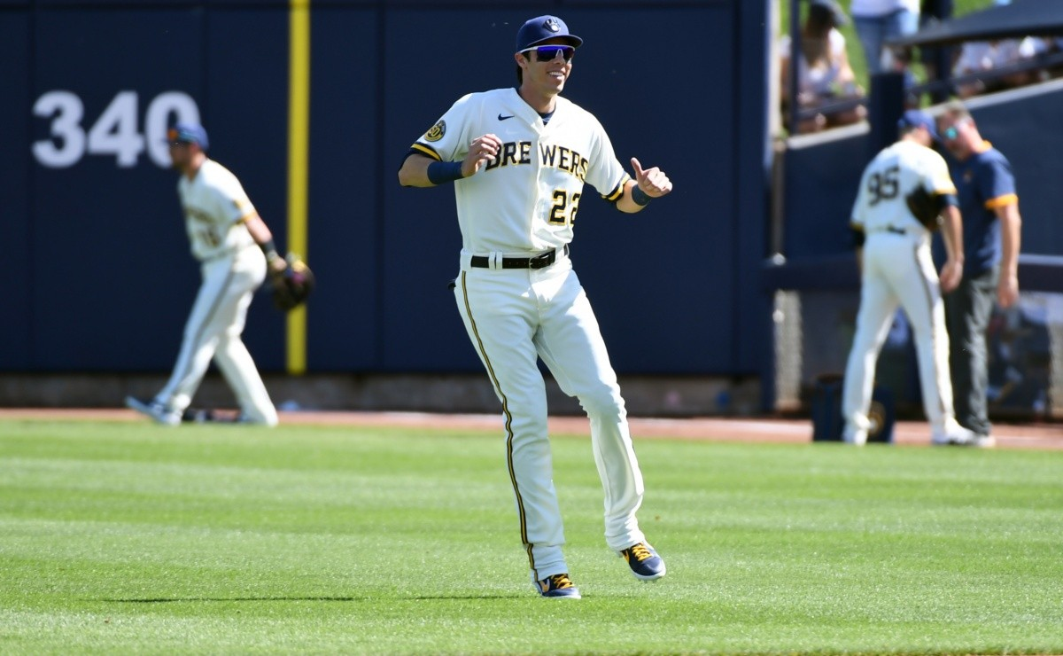 MLB: Return! Christian Yelich returns to the field with the Brewers but ...