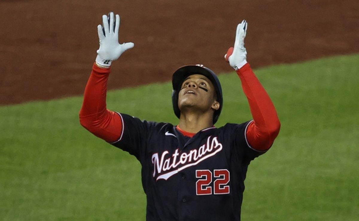 MLB Video Boom Juan Soto hits home run that mutes