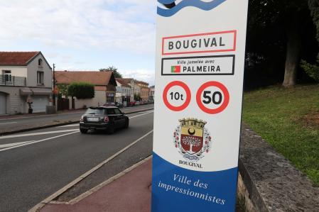 Bougival municipality, located just 10 kilometers from the PSG sports city