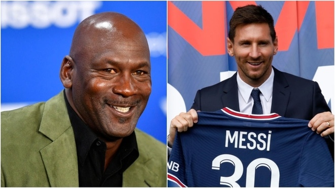 Messi helps Michael Jordan regain his fortune by signing with