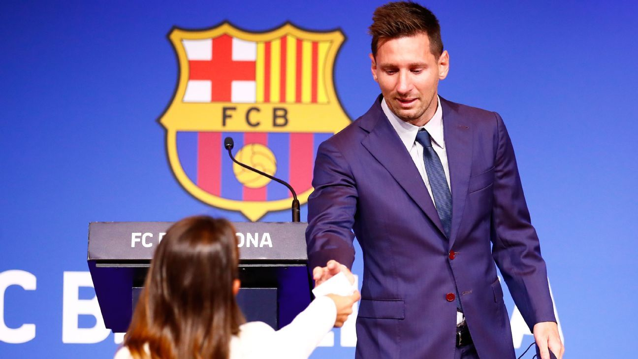Messi leaves because they didnt let him stay