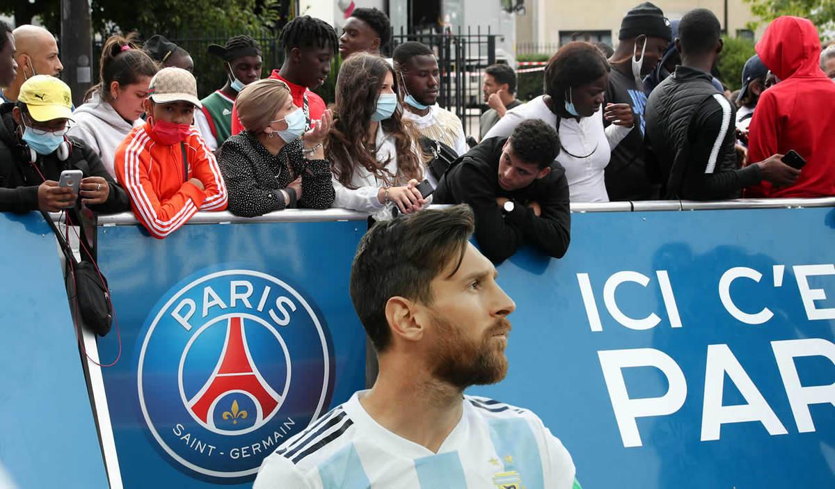 Messi unleashes madness in Paris; fans camp at PSG stadium