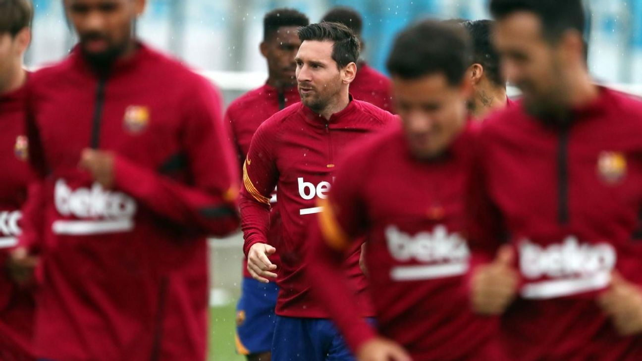 Messi will not report with Barcelona until he fixes his