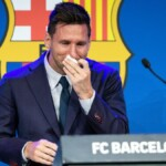 Messi's grief