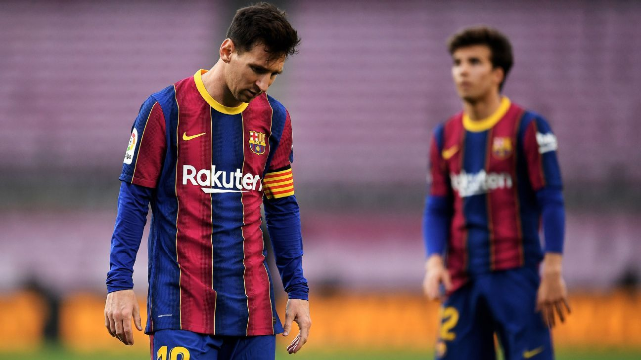 Messis renewal with Barcelona is complicated