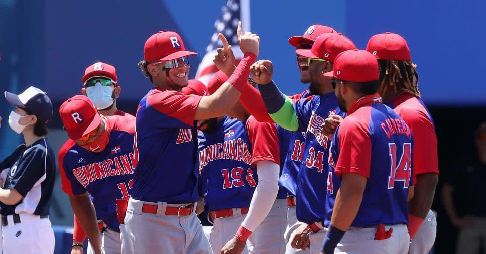 Moment in which the Dominican Republic gets bronze against Korea