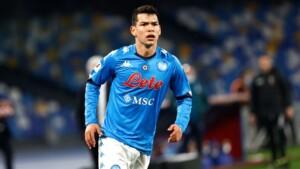 Napoli already has a return date for 'Chucky' Lozano