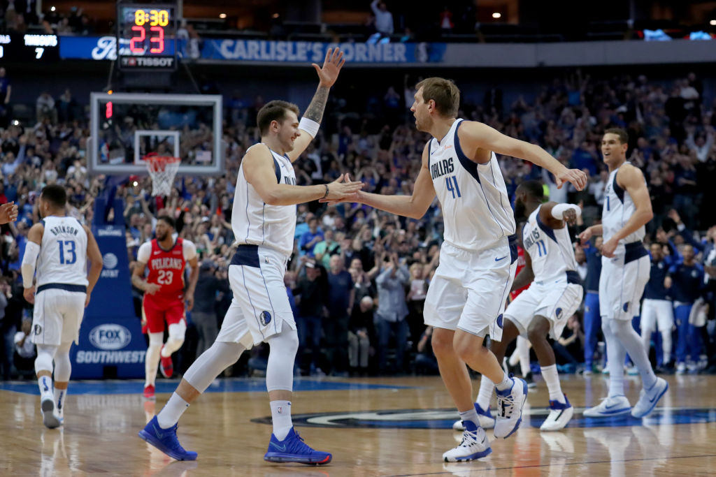 Nowitzki, Cuban and Kidd travel to Slovenia to renew Luka Doncic