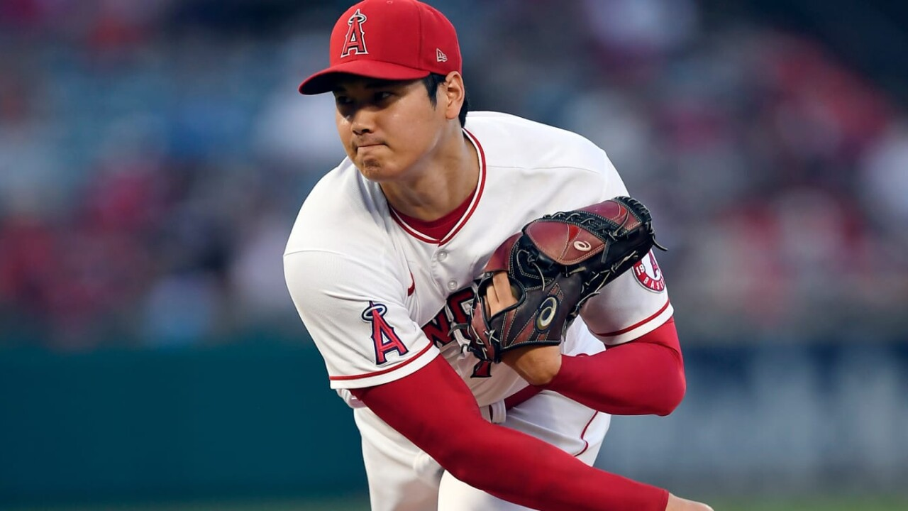 Ohtani thinks he can improve as a pitcher