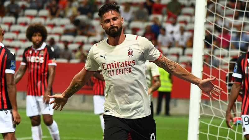 Olivier Giroud and the 10 most underrated center forwards in