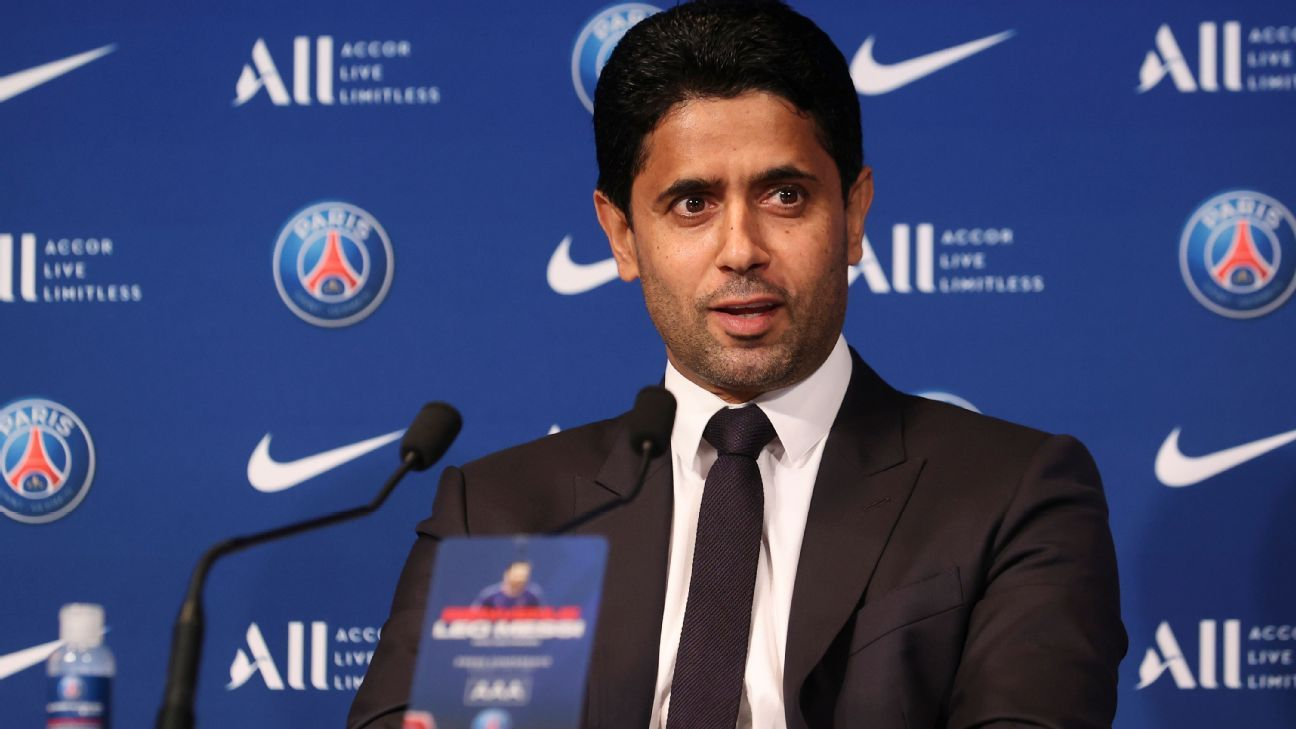 PSG How Nasser Al Khelaifi went from being a mediocre tennis