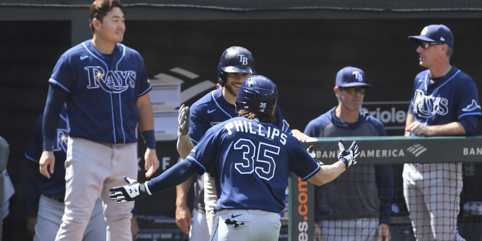 Rays thunder again and sweep Baltimore