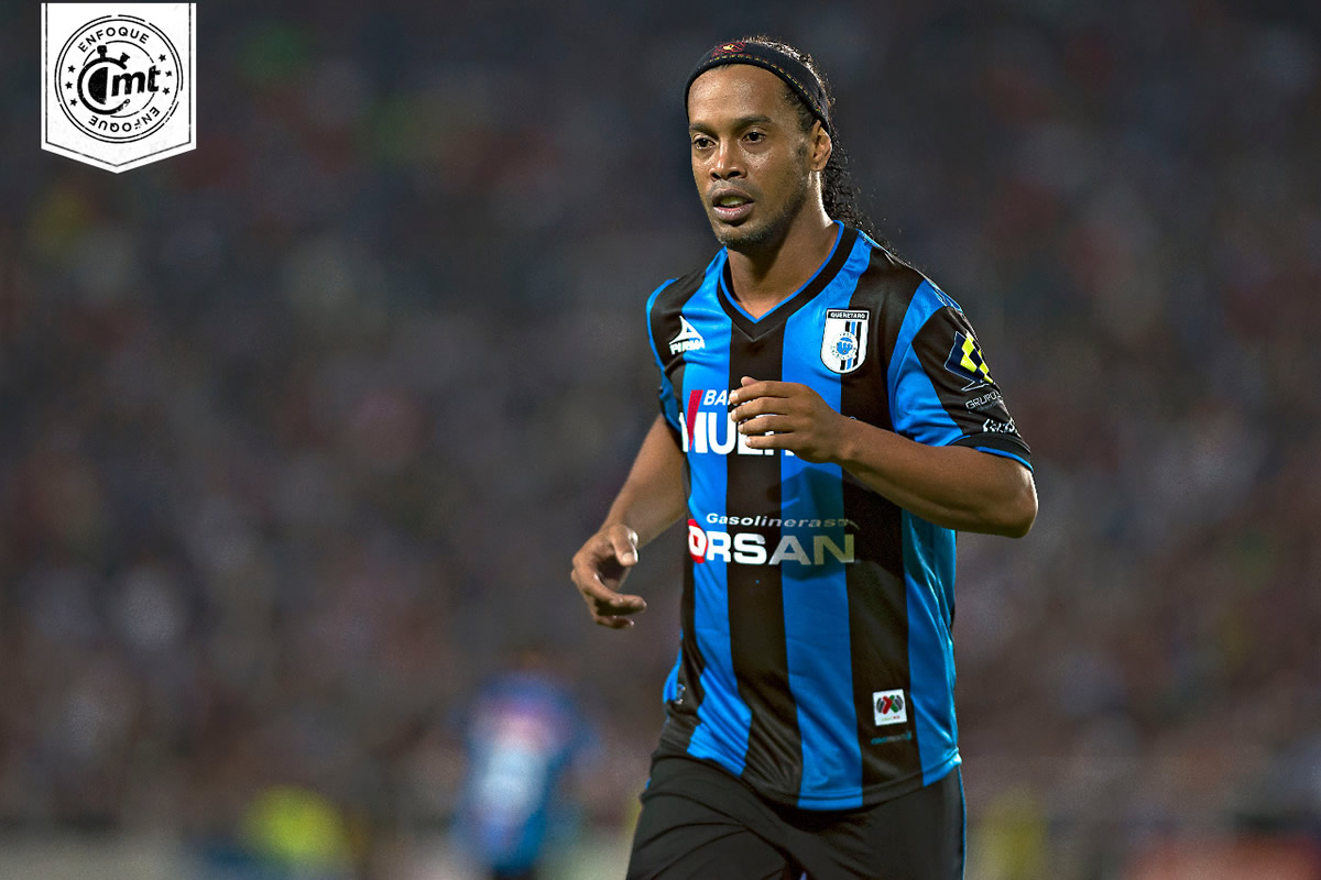 Ronaldinho and his time in Liga MX a success story