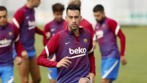"""Sergio Busquets, the first to say goodbye to Messi: """"I will miss you a lot"""""""