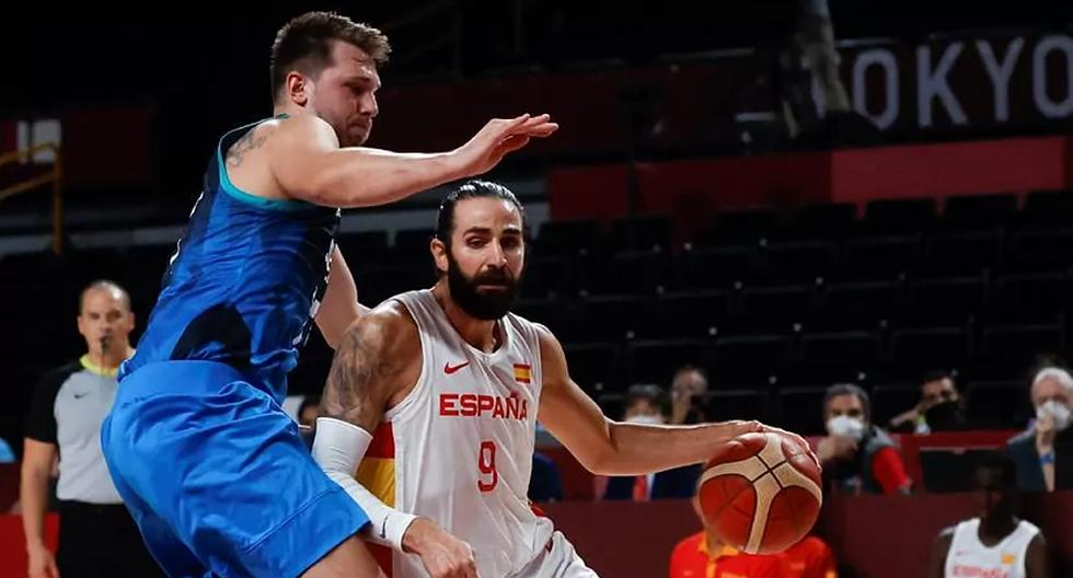 Slovenia overtakes Spain to rank first in their basketball group at Tokyo 2020
