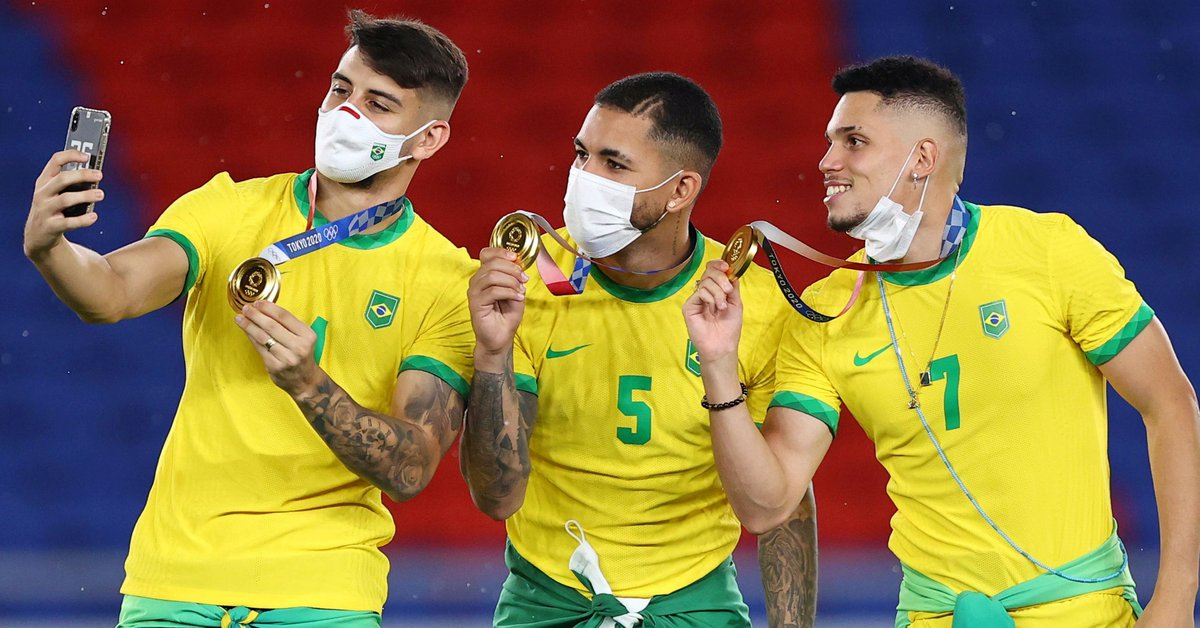 """Strong accusation of Brazilian Olympians against the soccer team: """"They are not part of the team and they do not care"""""""