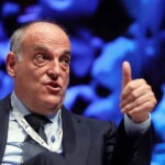 Tebas responds to Laporta that agreement with CVC does not mortgage Barcelona's television rights