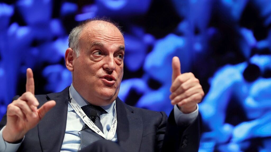Tebas responds to Laporta that agreement with CVC does not