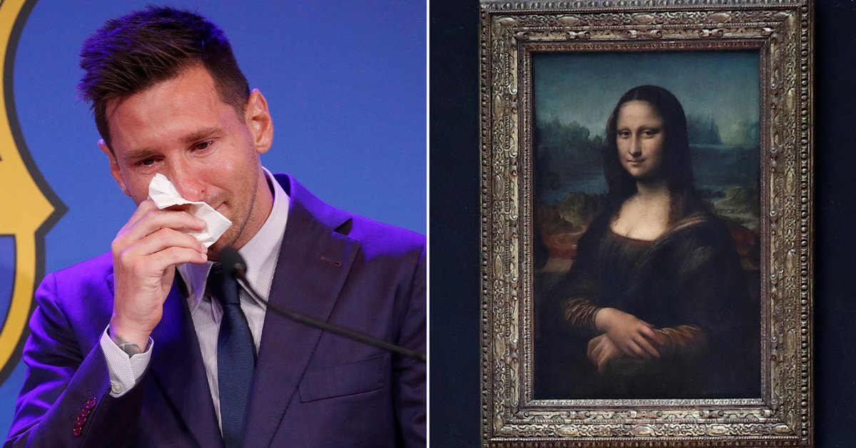 The Messi case is as if La Gioconda were looking